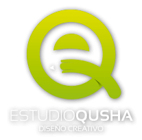 logo estudio qusha diseño creativo