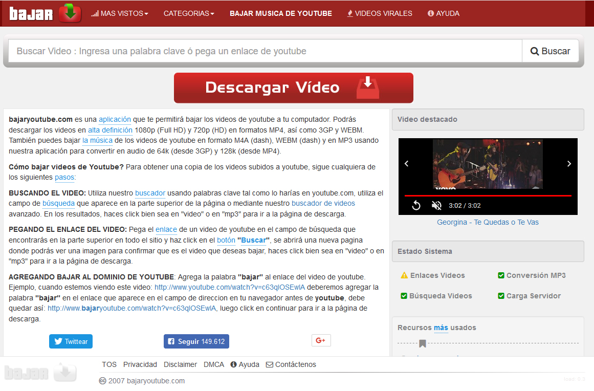 descargar videos de youtube en hd 1080p sin programas